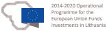 Kuriame Lietuvos ateitį 2014-2020 ES fondų ženklas