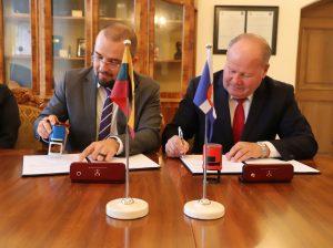 Pasirašyta KTU ir Kauno rajono savivaldybės bendradarbiavimo sutartis