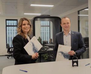 """KTU pasirašė bendradarbiavimo sutartį su įmone """"Rocket Software Lithuania"""""""