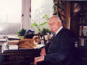 KTU Ppof. Romualdas Baltrušis darbo kabinete namuose, 2013